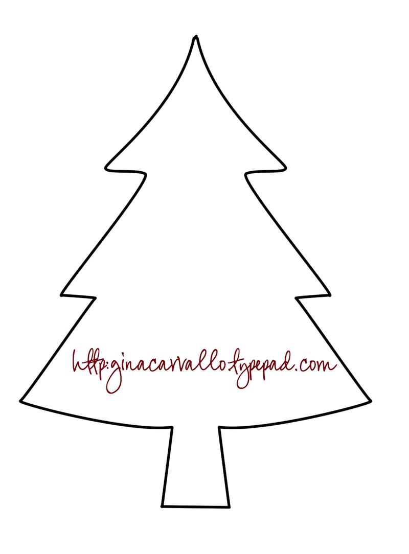 Molde pino de navidad copy